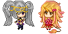 Pixel Commission: Alixa and Xana by A-Killer-Artist