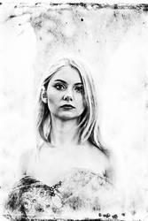 Portrait Blonde Woman 6 by cornelgin