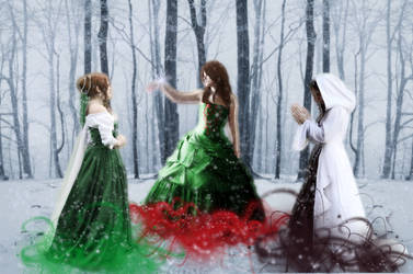 The Three Ghosts of Christmas by Rousetta
