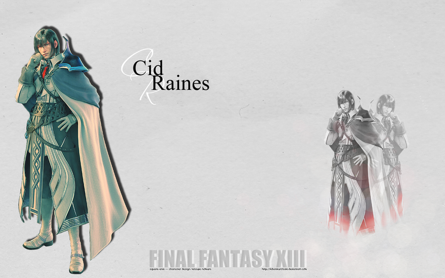 Cid Raines Wallpaper by KibanKurosaki