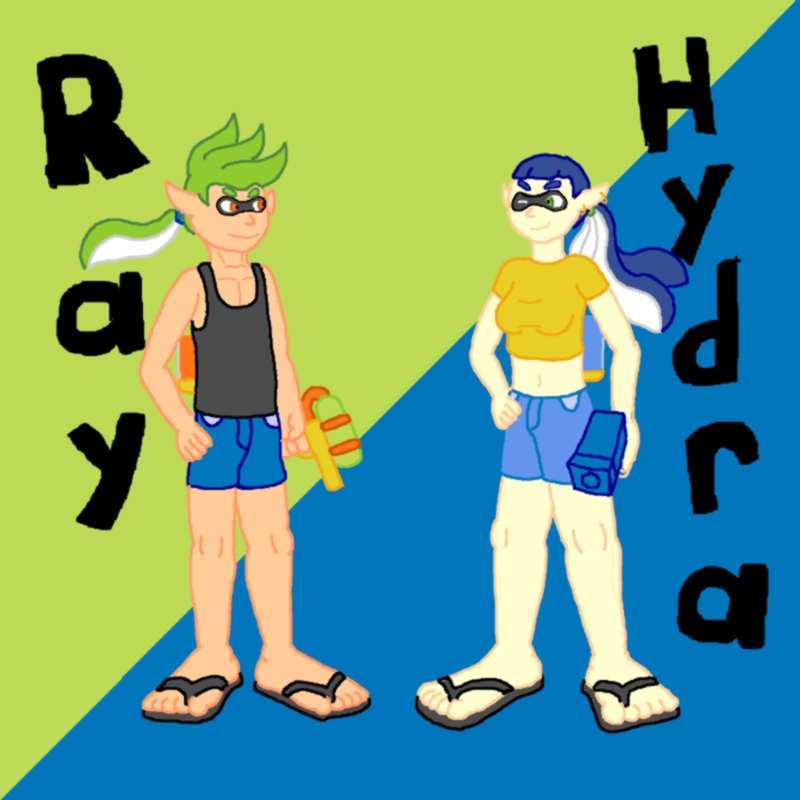 Ray And Hydra Profile By Dayoshiman89 On Deviantart
