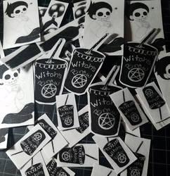 Stickers!!! by Skullietheoddone