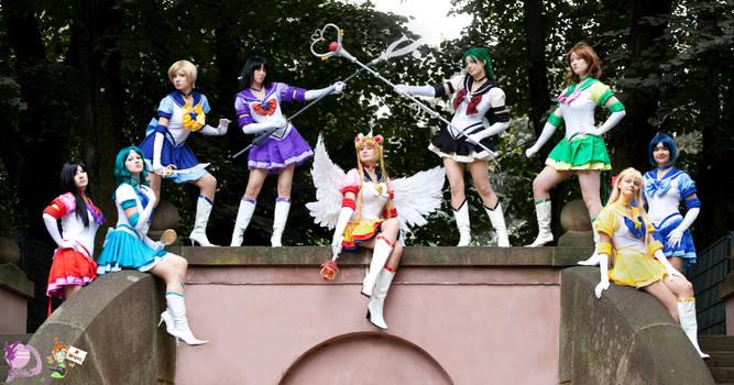 Eternal Sailor Senshi Group by FairyDustProductions