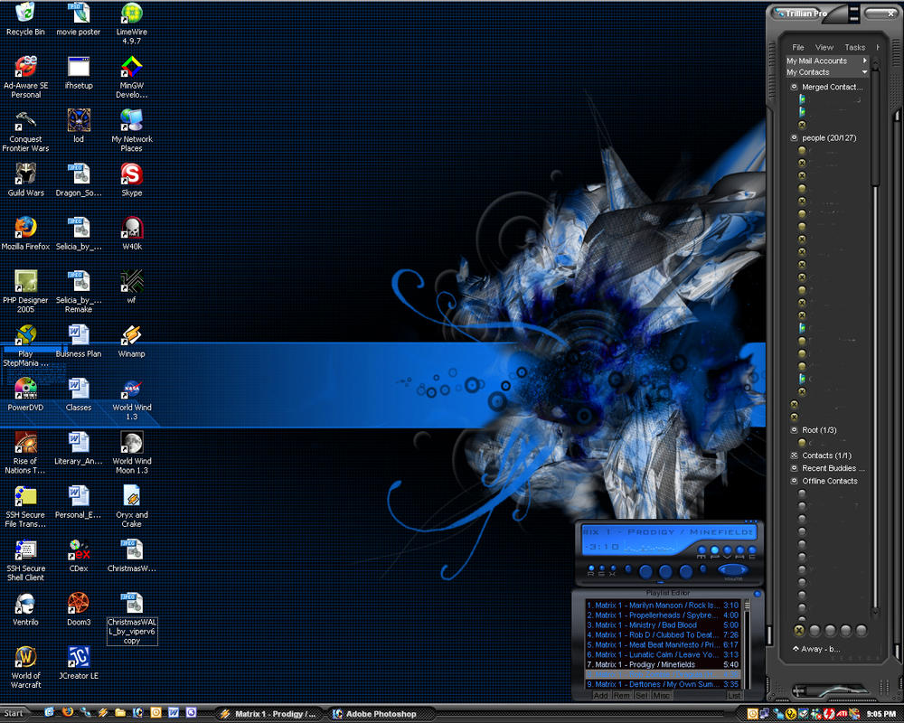 Screen shot 1280x1024 11-26-05 by clb85118