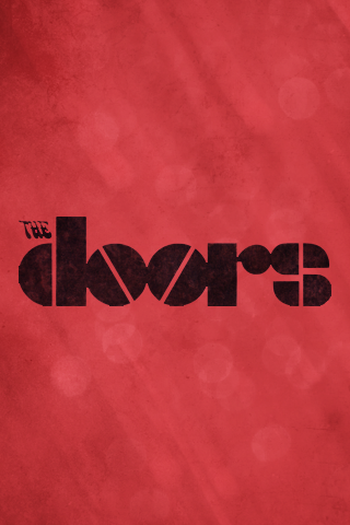 The Doors Iphone Wallpaper By Kylestewartdesign