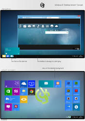 Windows 8 Desktop Version Concept