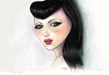 Vampirella by KaterinaKapa