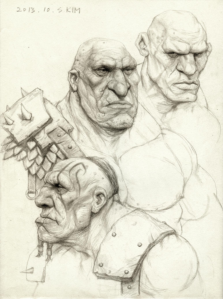 Azog Giants by Kimsuyeong81...