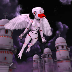 Beata Aves: Midnight Flight 3679 by Swawa3D