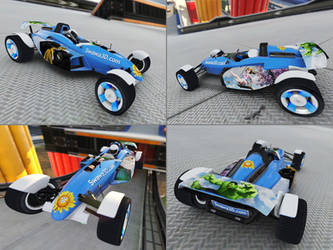 TrackMania 2 Stadium skin by Swawa3D