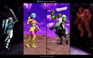 3079 Block Action RPG: Races
