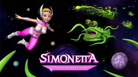 Simonetta Promotional Art by Swawa3D