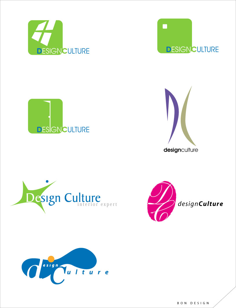 design Culture logo by bon523bon