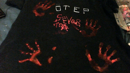 OTEP. bloody evidence. by Elven-Vampyre