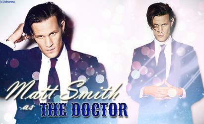 Matt Smith as The Doctor by Elven-Vampyre