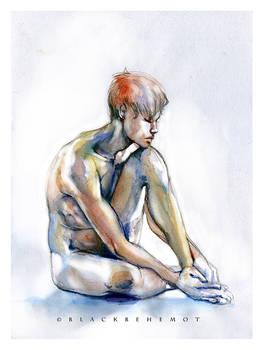 Boy Watercolor