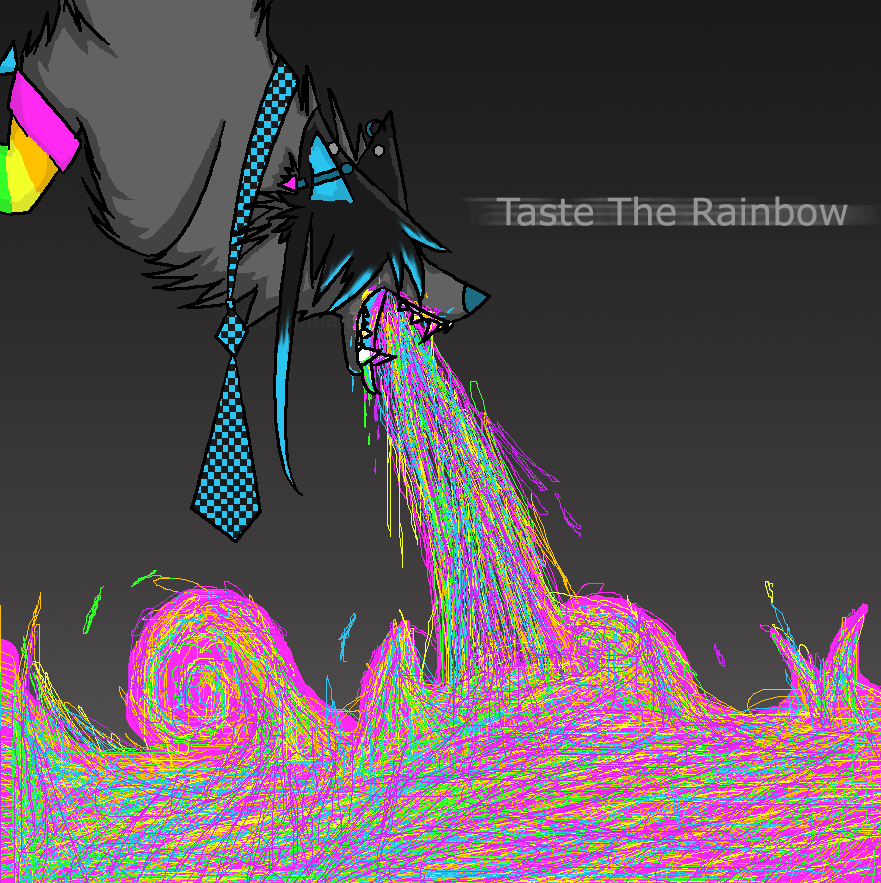 .:.Taste the rainbow.:. by gingadensetsuweed5