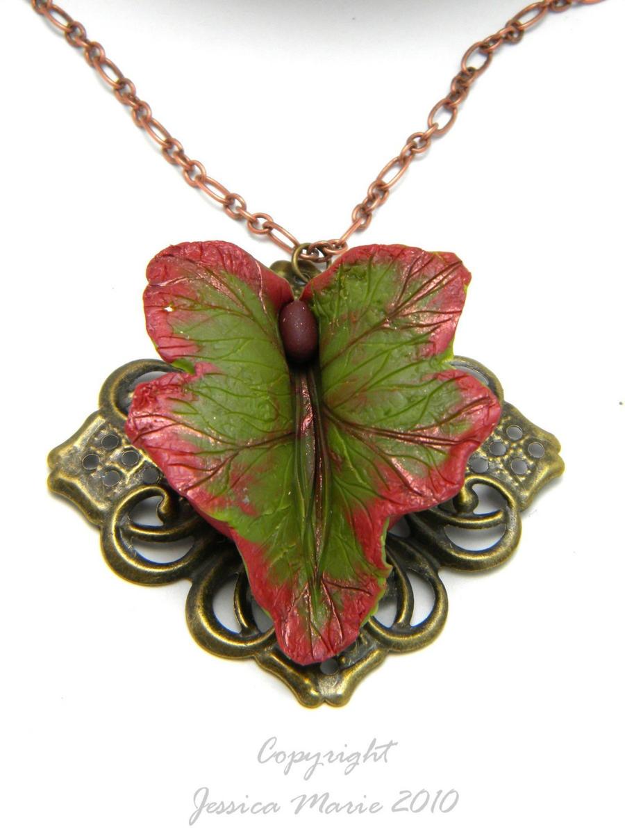 Golden Maple Leaf Vulva by VulvaLoveLovely