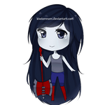 Marceline - Adventure Time by kiwiomnom