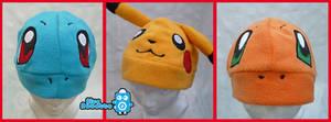 Pokemon hats