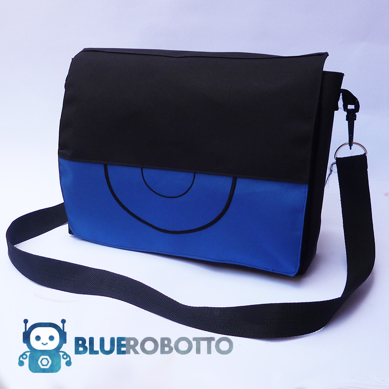 Pokemon X and Y Trainer messenger bag by BlueRobotto