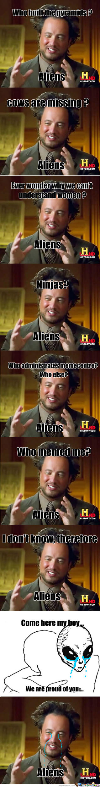 Aliens...... by whitehvader