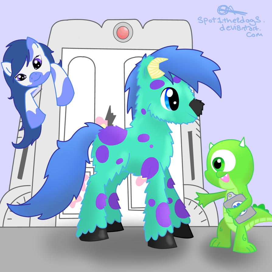 Monsters Inc. MLP By Spot1the2dog3 On DeviantArt