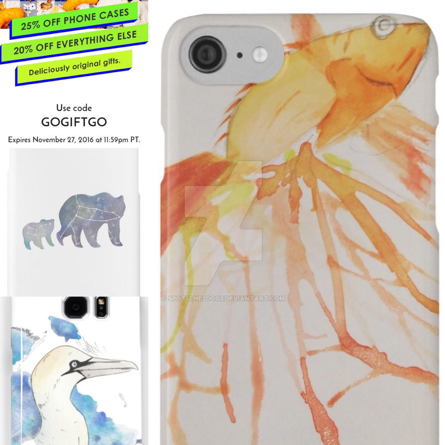 Phone cases by spot1the2dog3