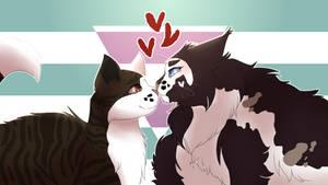 -Mokka- Cat Kisses [SPEEDPAINT]