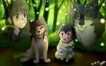 .-Choosing the Future-. -Wolf Children-