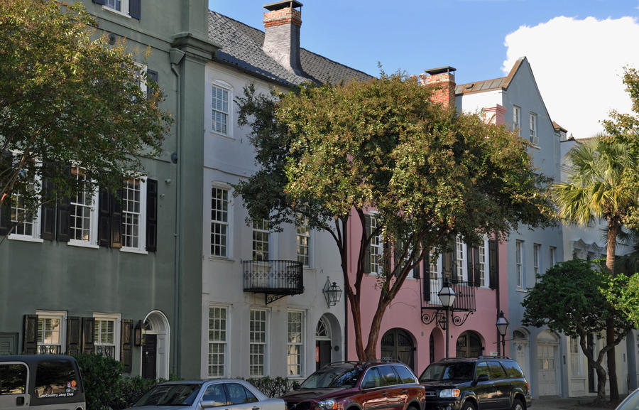 Charleston row houses by usedbookguy on deviantart for Charleston row houses