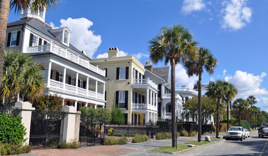 Charleston battery row by usedbookguy on deviantart for Charleston row houses