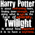 harry potter vs twilight!! by saremleghari