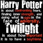 harry potter vs twilight!! by saremleghari