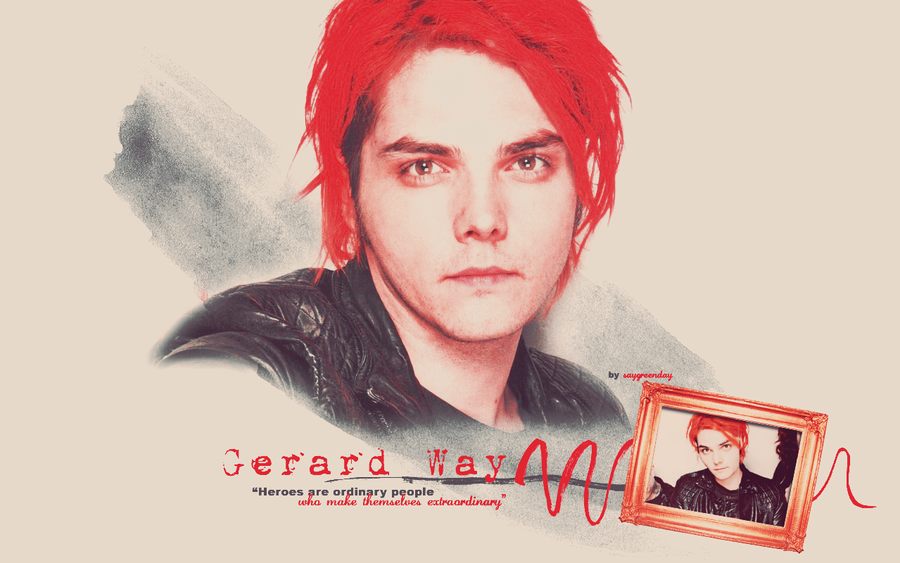 Gerard Way wallpaper 045 by saygreenday on DeviantArt