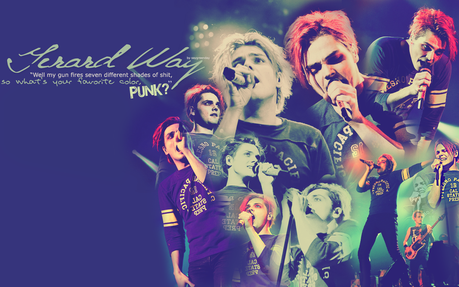 Gerard Way wallpaper 048 by saygreenday