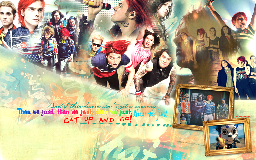 Get up and go wallpaper 051 by saygreenday