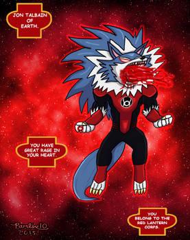 Red Lantern Jon Talbain