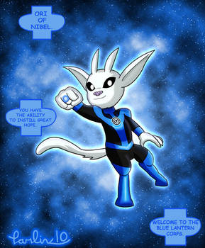 Blue Lantern Ori