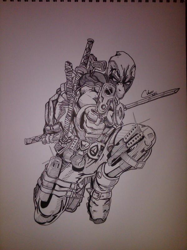 Deadpool by DamCee