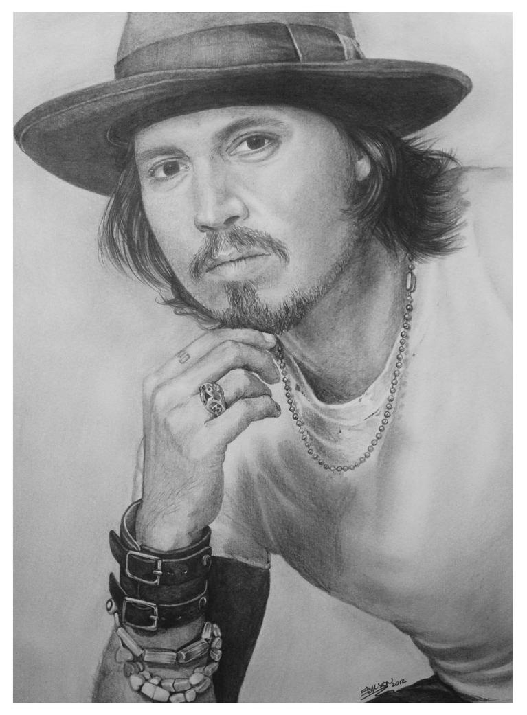 Johnny Depp by EdilsonR74