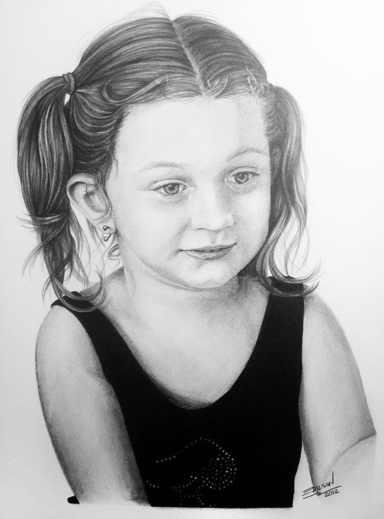 Little Girl (Commission) by EdilsonR74