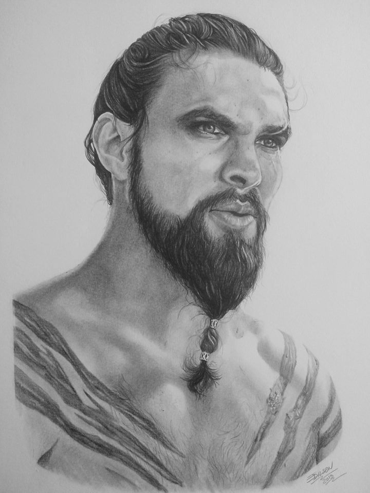 Khal Drogo - Jason Momoa by EdilsonR74