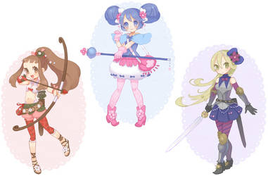 Magical Girl Adopts [Auction - 2 Open] by InaIna-Adopts