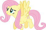 Fluttershy Flying Vector