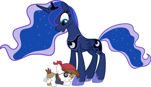 Luna and Pip by AlmostFictional