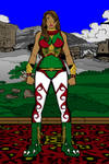 Quetzal Mask (Civ. Name Sarita Hildegard de Leon)