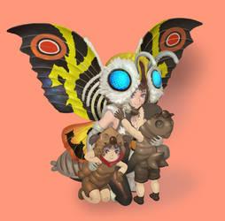 Mothra by urasato