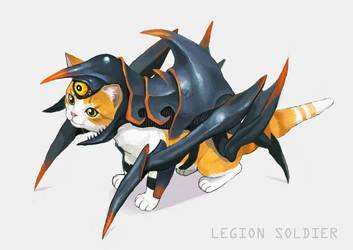 Legion Soldier by urasato