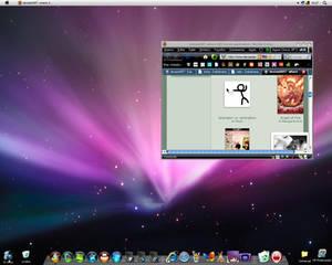 My Fake Mac OS Desktop